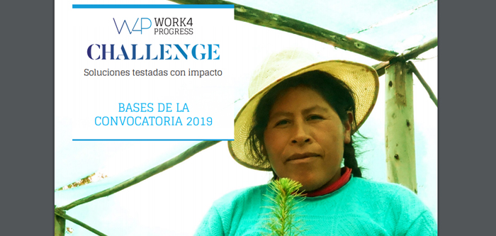 Convocatoria Challenge Work4Progress 2019